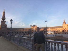Craigh Cavanagh en Sevilla