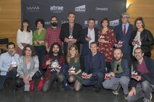 Galardonados de los premios ATRAE