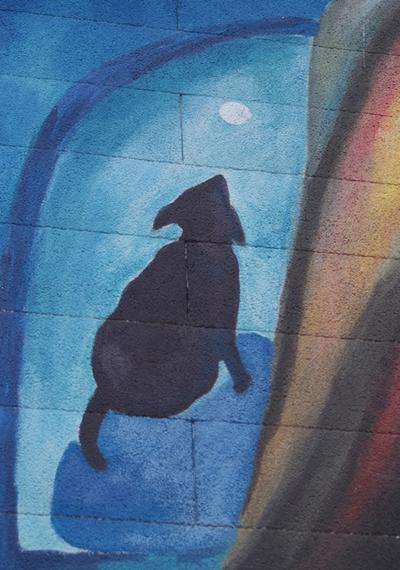 Mural del gato
