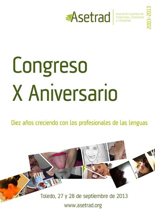 Congreso X Aniversario de Asetrad
